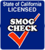 California Smog Check License Logo
